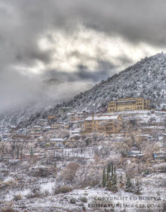 Storm Clearing Over Jerome by Ed Bustya